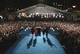 Election night in Grant Park - JUSTIN SULLIVAN/GETTY IMAGES