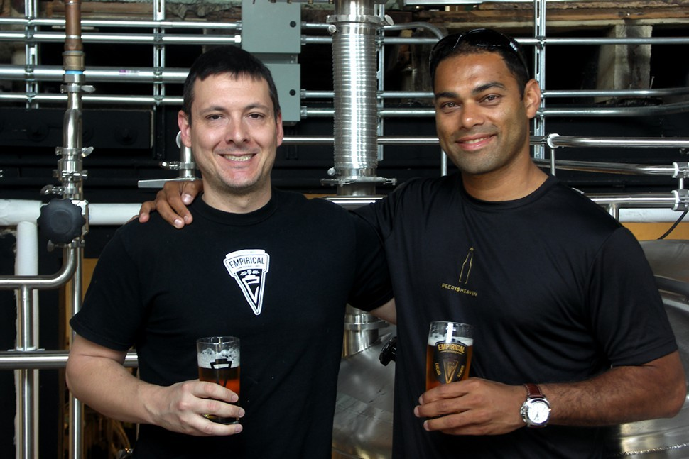 Empirical cofounders Bill Hurley and Sumit Mehta