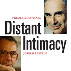 Epstein is the one with the glasses, Raphael the one with the eyebrows.