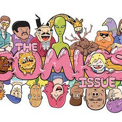 Eric Kirsammer, owner of Chicago Comics and Quimby's Bookstore, curates our Comics Issue