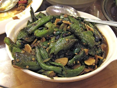 famous Hunan Chili in black bean sauce, Lao Hunan