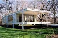 Farnsworth House swamped