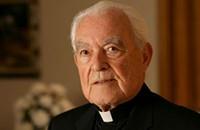 Notre Dame's Father Hesburgh liked going to the office