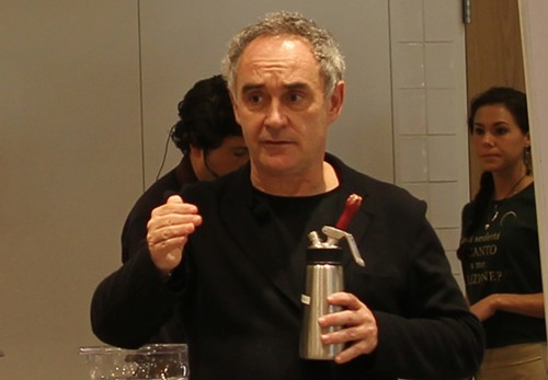 Ferran Adrià with the devil.