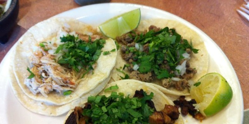 Five-dollar* lunches: $1.75 tacos easily worth $2 at Taqueria Moran