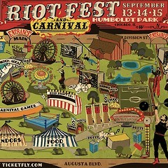 For a good time read Riot Fest's Twitter