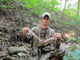 Forrest Turner, 19, grew up hunting squirrel, turkey, and deer in southern Indiana. - MIKE SULA