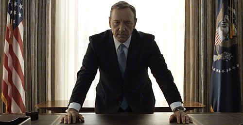 Frank Underwood will not accept such leaks.