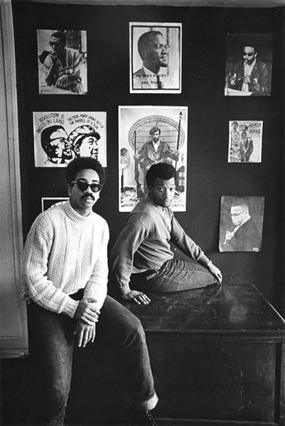 Fred Hampton and Bobby Rush in 1969