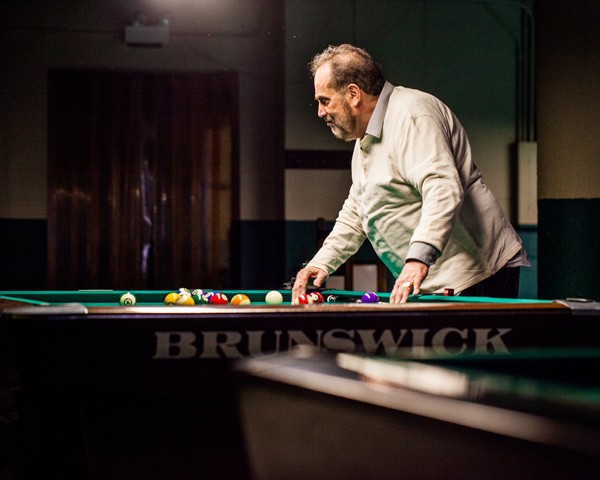 "Freddy ""the Beard"" Bentivegna at Chris's Billiards in Portage Park - NICK MURWAY"