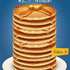 Free short stack at IHOP tomorrow