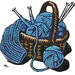 Fridays -- Knitting classes at the Lincolnwood Library