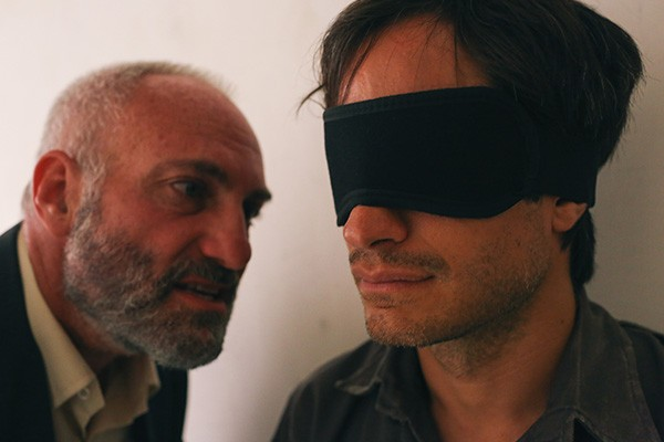 Gael García Bernal (right) in Rosewater