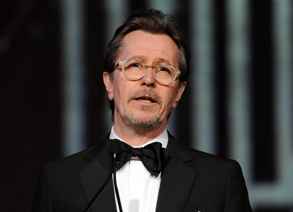 Gary Oldman makes a fool of himself in Playboy