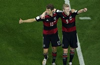 OK, Brazil's a shattered nation. What about Germany?