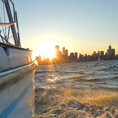 Get on the water: Kayak, swim, jet-ski, surf, or sail - even if you're the aquatically challenged
