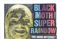 Gig poster of the week: a Black Moth Super Rainbow and a terrifying gremlin