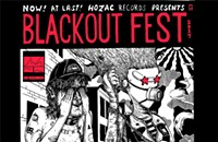 Gig poster of the week: As usual, things get dark at the Blackout