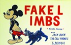 Gig poster of the week: Fake Limbs expose Mickey Mouse