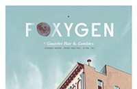 Gig poster of the week: Foxygen in the sky