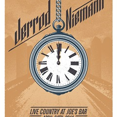 Gig poster of the week: Jerrod Niemann is on time