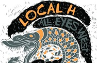 Gig poster of the week: Snakes eating snakes with Local H
