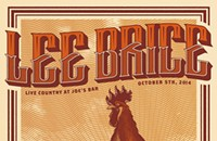 Gig poster of the week: Someone refill this rooster's beer