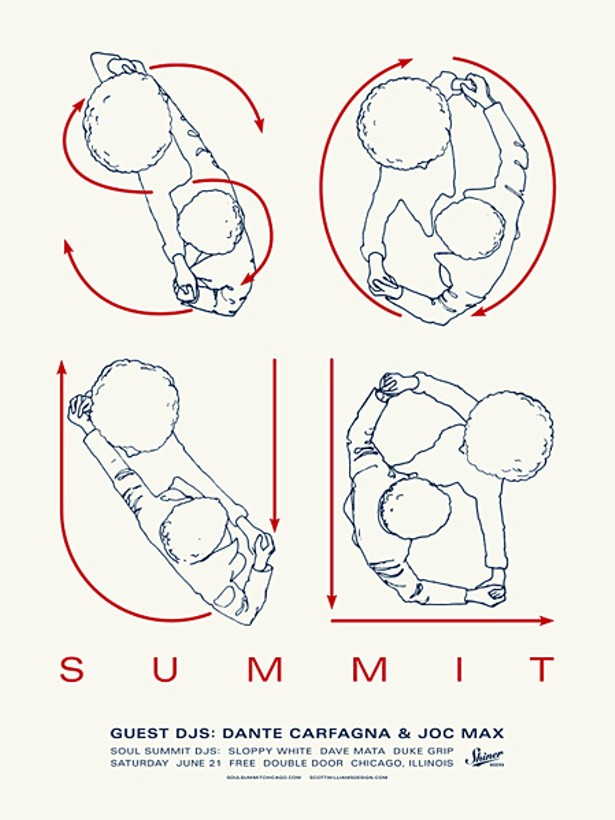 Gig Poster Of The Week Soul Summits Dance Lessons