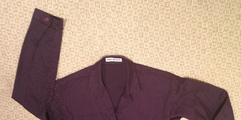 Giving away: a bad-luck jacket