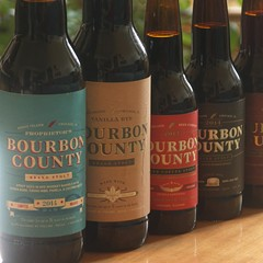 Goose Island sent me several sexy photos of this years' Bourbon County lineup, but because I am stubborn and prideful I insisted on taking my own.