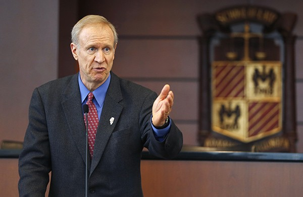 Governor Bruce Rauner can target his foes with the $20 million in his campaign fund as well as cash from political action committees run by his allies.