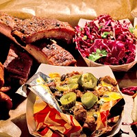 Green Street Smoked Meats: Praise god and pass the pork ribs
