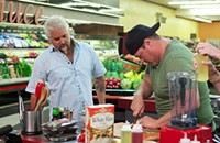Guy Fieri in the frozen aisle