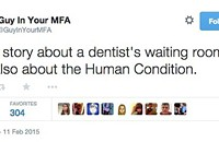 Guy in Your MFA tweeter gets literary attention that should rightfully go to guys in MFAs