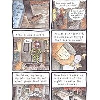 <i>Half a Story About Being on Your Own</i>, a comic by Kevin Budnik