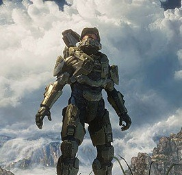 Halo protagonist Master Chief greets a new day in gaming