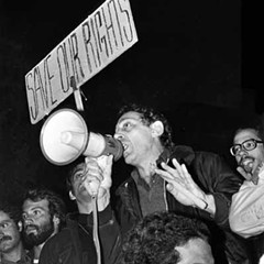 """Harvey Milk, 1977; the image was to have been part of """"When Then Was... Now!"""""""