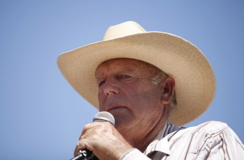 He claims to be just like Rosa Parks, but he looks just like Cliven Bundy to me?