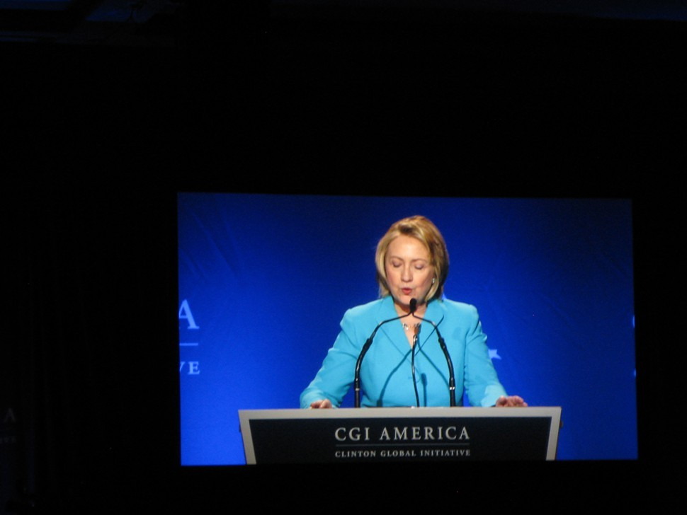 Hillary Clinton at CGI America