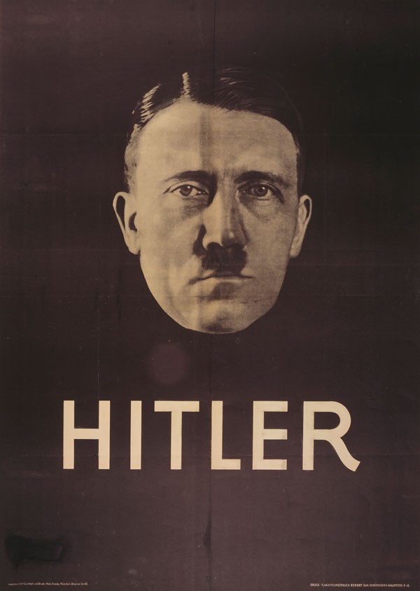 Hitler Election Poster, 1932