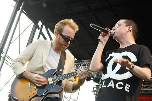 Hot Chip: the same song over and over and over and over and over.