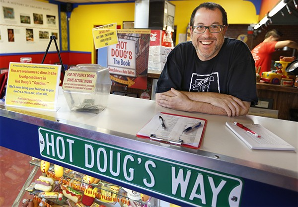 Hot Doug's returns - COURTESY AP