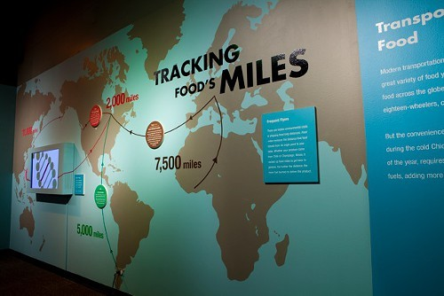 How far does your food travel?