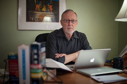 """Howard Goldblatt, pictured in his home office, jokes that 'translation isn't a field anyone sensible would go into."""""""