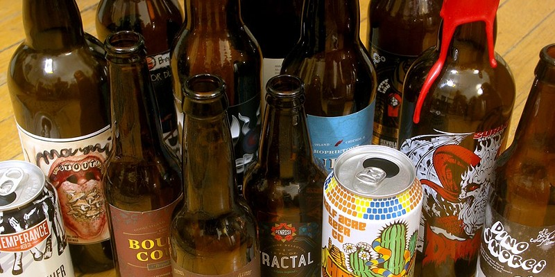 I didn't review all that many packaged beers this year. These are most of them, in fact.