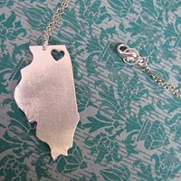I Heart Illinois necklace and other things you should buy from your neighbors