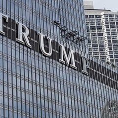 If Donald Trump had been thinking, he would have dazzled Chicago by proposing a cultural institution in his own honor instead of squabbling over the sign on his tower.