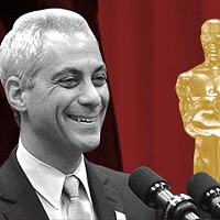 If Rahm airs his campaign ads enough, will voters believe they're true?