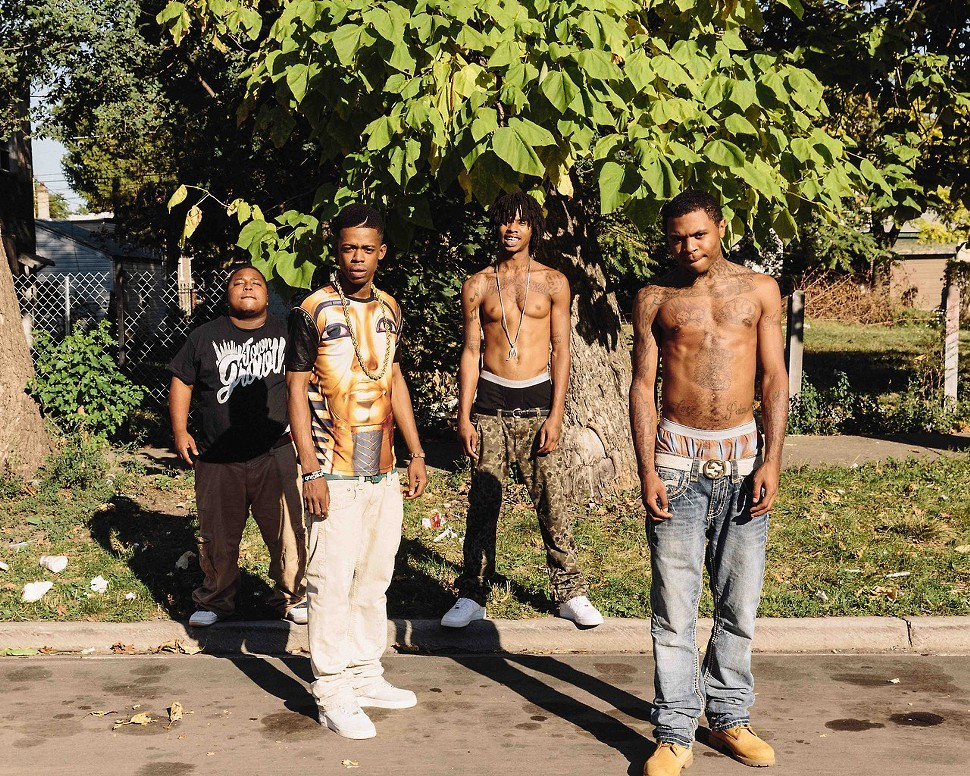 I.L Will (right) with the rest of M.I.C and Lil Kemo