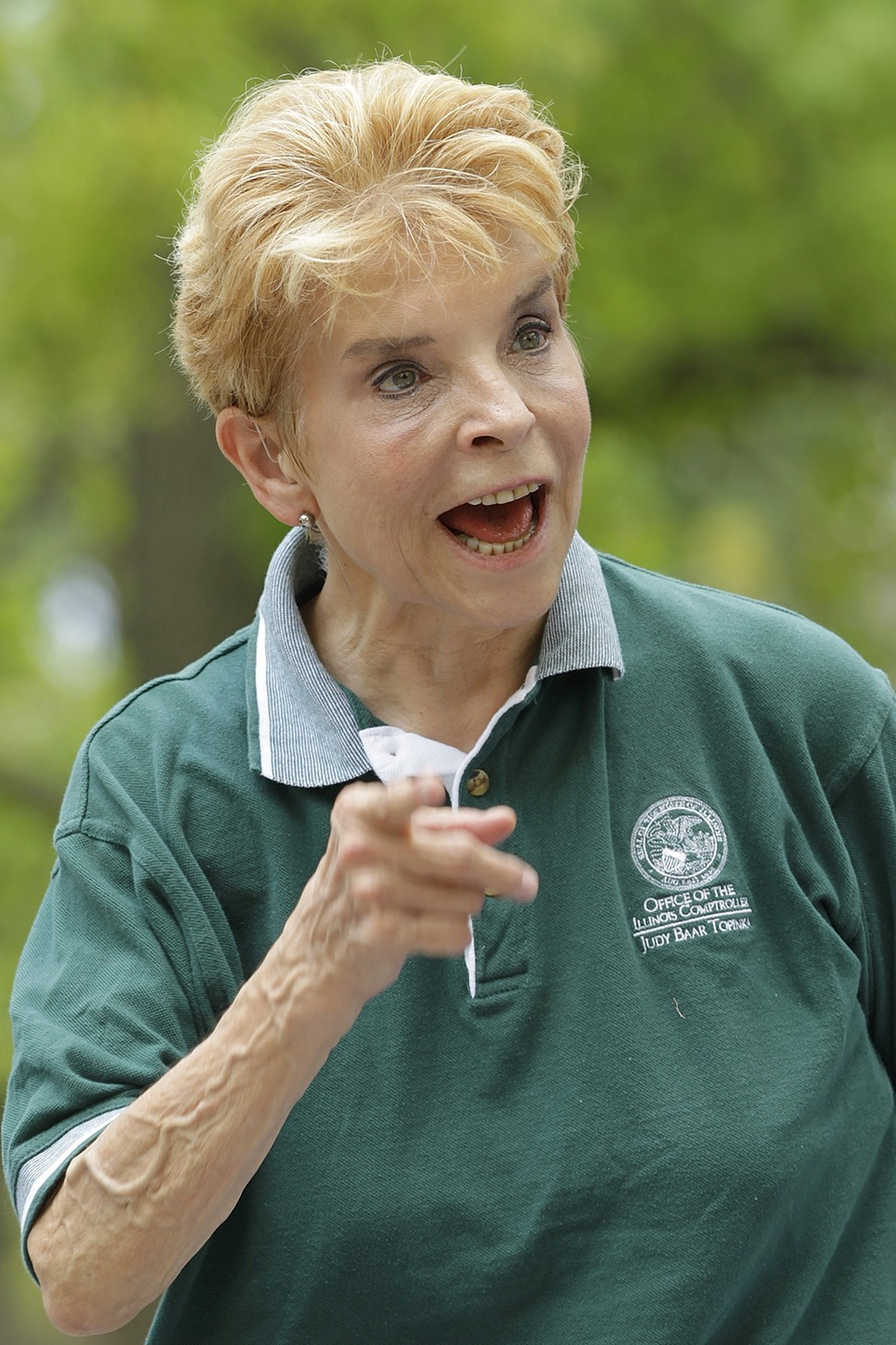 Illinois comptroller Judy Baar Topinka: saying whatever the hell she wants